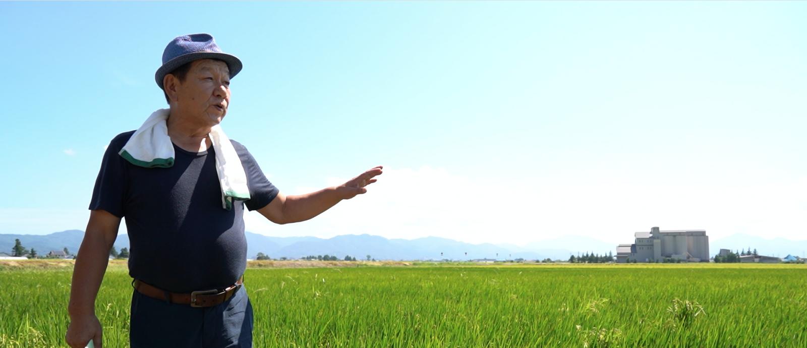 52歳で脱サラ就農。 「疎植農法」で未来を切り拓く。